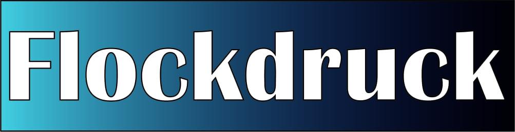 Flockdruck Logo