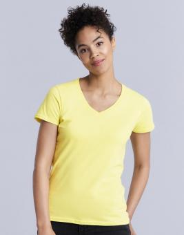 Premium Cotton Damen V-Ausschnitt T-Shirt