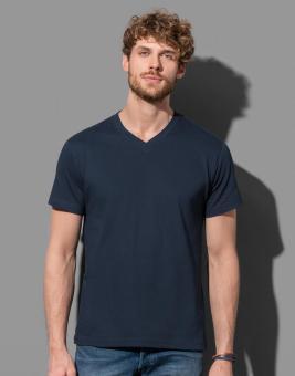 Classic-T-Shirt V-Ausschnitt