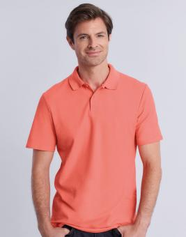 Softstyle® Adult Double Pique Poloshirt