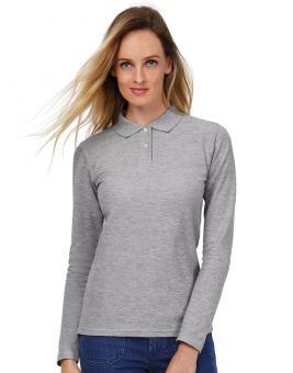 ID.001 Langarm Damen Poloshirt