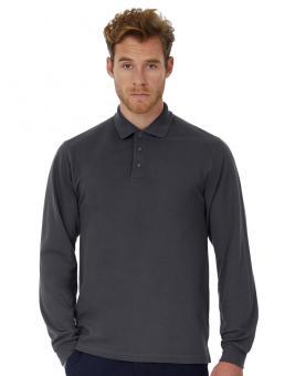 Heavymill Poloshirt Langarm