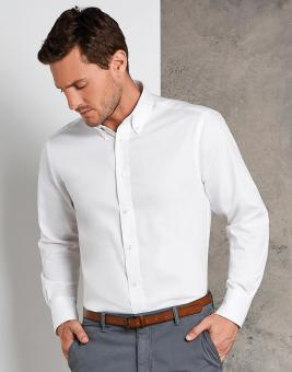 Tailored Fit Premium Oxford Hemd Langarm