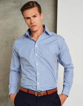 Tailored Fit Bengal Stripe Shirt Langarm